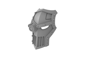 Iron Fists - Face Plate in Smooth Fine Detail Plastic