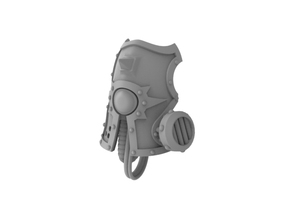 Death Guardian - Face Plate in Frosted Ultra Detail