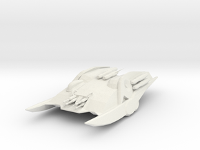 Cylon Heavy Raider in White Natural Versatile Plastic