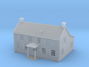 Osborn Cannonball House Z Scale in Smooth Fine Detail Plastic