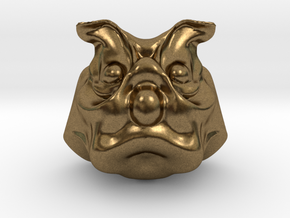 Uncle Dog in Natural Bronze: Extra Large