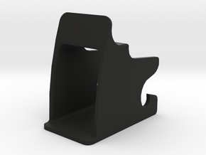 Isofix child seat fitting mount in Black Natural Versatile Plastic