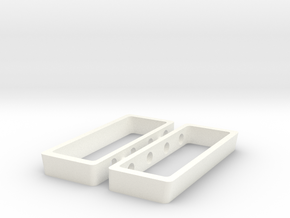 AJPE 1/18 Hemi Heads Only in White Processed Versatile Plastic