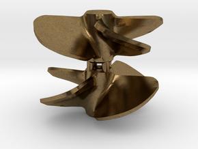 Propeller 18 x 20 4-blades (RH+LH pair) in Natural Bronze