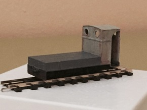 009 'Sanford' Penrhyn Brake Van in Smooth Fine Detail Plastic