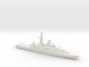 Kang Ding-Class Frigate, 1/2400 in White Natural Versatile Plastic