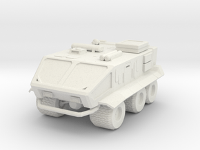 Sci-fi military truck in White Strong & Flexible