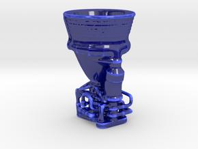 CoffeeCupF1 250mL in Gloss Cobalt Blue Porcelain