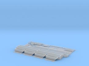 N Scale Intermodal Yard Crane- Lifter, Wheels, Tro in Smooth Fine Detail Plastic