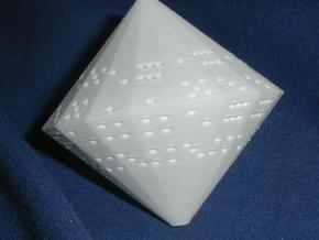 d36: 2d6 in one! in White Natural Versatile Plastic