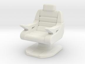 Captain's Chair, Battle Bridge (Next Gen) 1/30 in White Natural Versatile Plastic