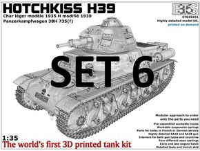ETS35X01 - Set 6 - Engine Compartment in Frosted Ultra Detail