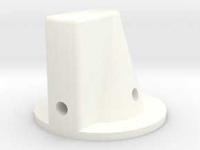 Main - Preset Knob 164 in White Processed Versatile Plastic
