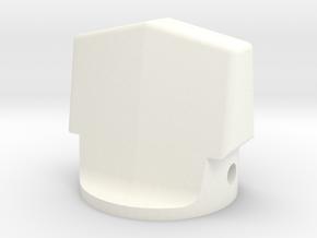 Pre-set Chanel Sel Knob in White Processed Versatile Plastic