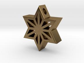 Asa Gara Pendant in Natural Bronze