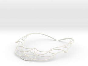Nouv Necklace in White Natural Versatile Plastic