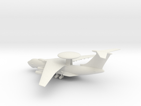 Beriev A-50 Mainstay in White Natural Versatile Plastic: 1:200