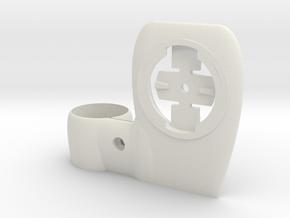 Aero mount for garmin in White Natural Versatile Plastic
