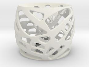 3DV9 in White Strong & Flexible