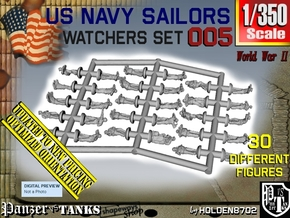 1/350 US Navy Watchers Set005 in Smoothest Fine Detail Plastic