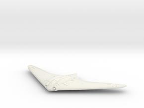 1:120 Horten Ho 229 in White Natural Versatile Plastic