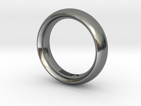 Modern+Convex in Fine Detail Polished Silver: 12 / 66.5