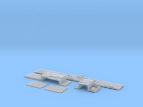 1:350 Scale Nimitz Class Hangar Bay 2 in Smooth Fine Detail Plastic