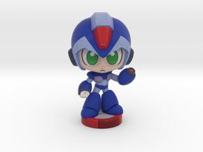 Megaman X in Full Color Sandstone