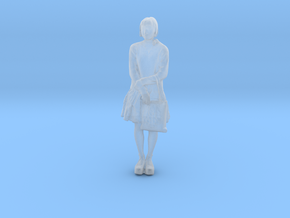 Printle C Femme 352 - 1/87 - wob in Smooth Fine Detail Plastic