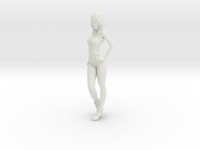1/24 Race Queen 03 in White Natural Versatile Plastic