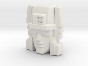 Slugslinger G1 Toy Face (Titans Return) in White Natural Versatile Plastic