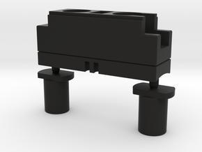 Darth Vader ROTJ lightsaber part: CONTROL BOX in Black Natural Versatile Plastic
