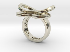 AMOUR in 14k white gold in 14k White Gold: 5.5 / 50.25