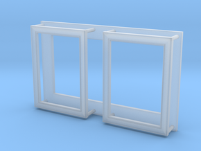 "Picture Frame 7/16"" x 5/8""-35 in Frosted Extreme Detail"