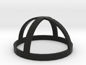 Ball Grill Top in Black Natural Versatile Plastic