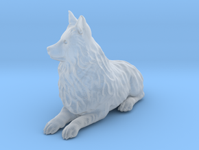 Ultra Tiny Dog Statue Mandy in Smooth Fine Detail Plastic