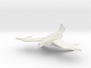 Battlehawk in White Natural Versatile Plastic