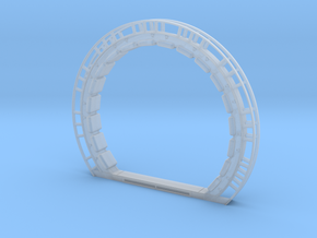 DeAgo Falcon Hold Port Ring - Bare in Smooth Fine Detail Plastic