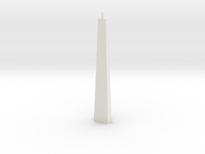 Pylon Wdw Single N 70 in White Natural Versatile Plastic
