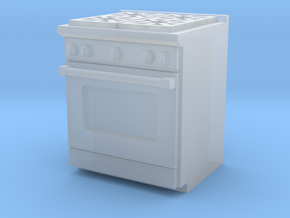 1:64 Kitchen Stove(Range) and Oven in Frosted Ultra Detail