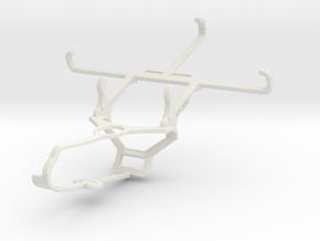 Controller mount for Steam & LG Optimus Vu II - Fr in White Natural Versatile Plastic
