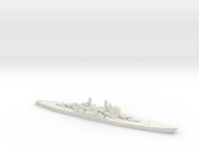 1/1800 Scale HMS Vanguard in White Natural Versatile Plastic