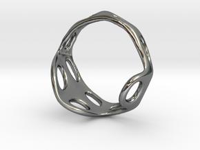 s3r012s6 GenusReticulum in Fine Detail Polished Silver