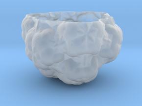 Fractal Flower Pot III in Smooth Fine Detail Plastic