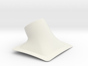 Christen Eagle Ram Air Filter Cover-A in White Natural Versatile Plastic