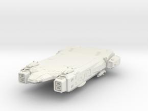 Wing Commander   Missile Destroyer in White Natural Versatile Plastic