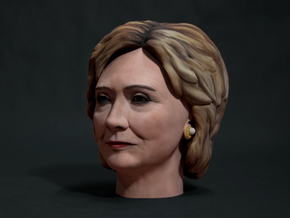Hillary Clinton in Full Color Sandstone