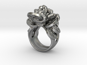 Greedy Money Toad Ring: JinChan in Natural Silver: 7 / 54