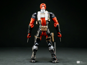 Revoltech Deadpool Scabbard (short) in White Strong & Flexible