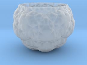 Fractal Flower Pot IV in Smooth Fine Detail Plastic